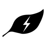 Energieikone Lizenzfreies Stockfoto