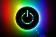 Energieknopf Stockfotografie