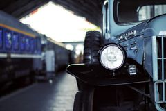 Energielastwagen stockbild