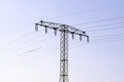 Energiemast Lizenzfreies Stockbild