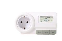 Energiemeßinstrument Stockfotografie