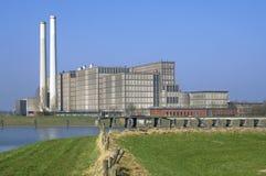Energiepflanze Harculo oder IJsselcentrale lizenzfreie stockbilder