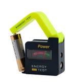 Energieprüfvorrichtung für Druckspeicher. lizenzfreie stockfotografie