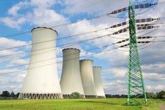 Energieproductie Royalty-vrije Stock Foto's