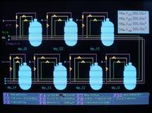 Energieregelung. Lizenzfreie Stockbilder