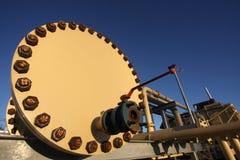 Energiesektorschmieröl und -gas Stockbilder