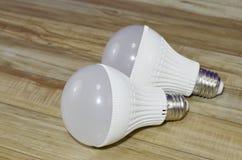 Energiesparende Glühlampe Lizenzfreie Stockfotografie