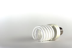Energiesparende Glühlampe Moderne Beleuchtungsmethode Stockbilder