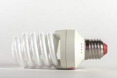 Energiesparende Glühlampe Moderne Beleuchtungsmethode Lizenzfreie Stockfotografie