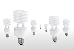 Energiesparende Lampe Lizenzfreies Stockbild