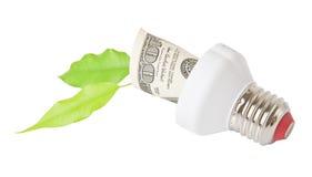 Energiesparende Lampe Lizenzfreie Stockfotografie