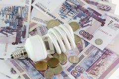energiesparende Lampen Lizenzfreies Stockbild