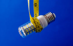 Energiesparende LED-Glühlampe Lizenzfreie Stockfotografie