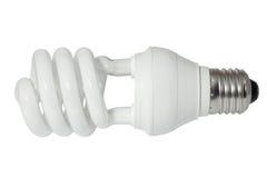 Energiesparende Leuchtstoff Glühlampe (CFL) Stockbilder