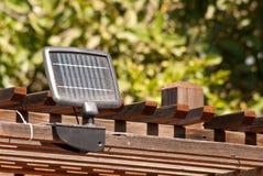 Energiesparender Sonnenkollektor lizenzfreie stockbilder