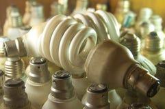 Energiesparendes Foto Stockbild