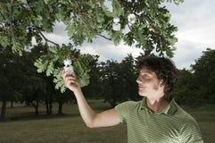 Energiesparendes Konzept Lizenzfreies Stockbild