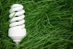Energiesparendes Konzept. Lizenzfreies Stockfoto