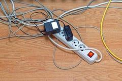 Energiestreifen elektrisch lizenzfreie stockfotos
