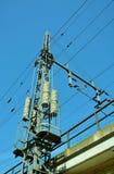 Energiestreifen und -Stromkabel Stockfotografie