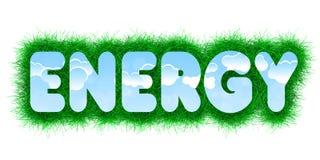 Energietitel royalty-vrije illustratie