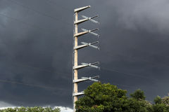 Energietoren Stock Foto's