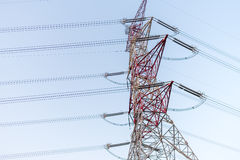 Energieturmkabel Lizenzfreies Stockfoto