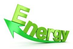 Energiewachstum Stockfoto