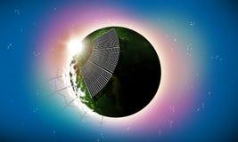 Energiewelt Lizenzfreie Stockbilder