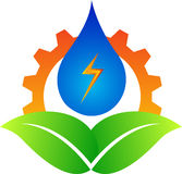 Energiezeichen Lizenzfreies Stockfoto