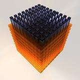 Energiezelle - 3D Stockbilder