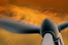 energigeneratorwind Royaltyfri Fotografi