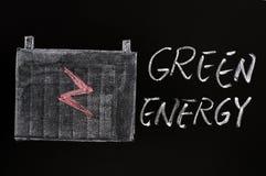 energigreen Fotografering för Bildbyråer