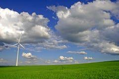 energigreen Royaltyfri Foto