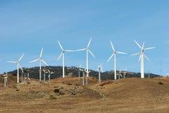 energii alternatywnej turbiny wiatr Fotografia Royalty Free
