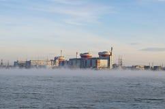 energii jądrowej stacja Zdjęcie Royalty Free
