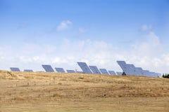 Energii słonecznej roślina Obrazy Royalty Free