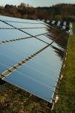 Energii słonecznej roślina zdjęcia royalty free