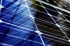 Energii słonecznej widmo z siatek liniami Zdjęcia Stock