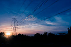 Energii wierza Fotografia Royalty Free