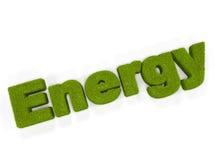 energii zieleń Obraz Royalty Free