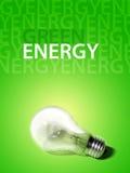 energii zieleń Zdjęcie Stock