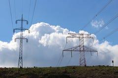 Energinätverket Royaltyfri Fotografi