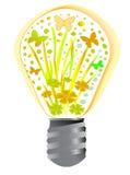 energinatur stock illustrationer