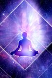 energinegro spiritual Arkivfoton