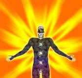 energinegro spiritual Royaltyfri Fotografi