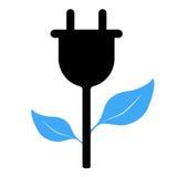Energisymbol Arkivbild