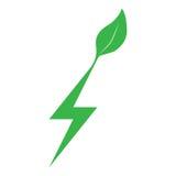 Energisymbol Arkivfoton