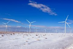 energiwind Royaltyfri Foto