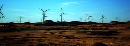 energiwind Arkivfoto